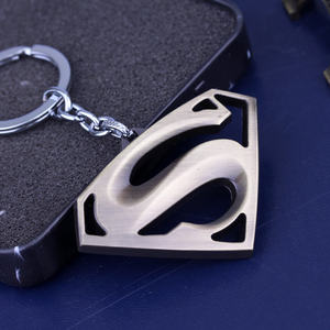 Inexpensive The Avengers Superman Keychain Superhero S Logo Key Chain High Quality Keyring Fashion Jewelry For Women Men Fans — bequmcmvl