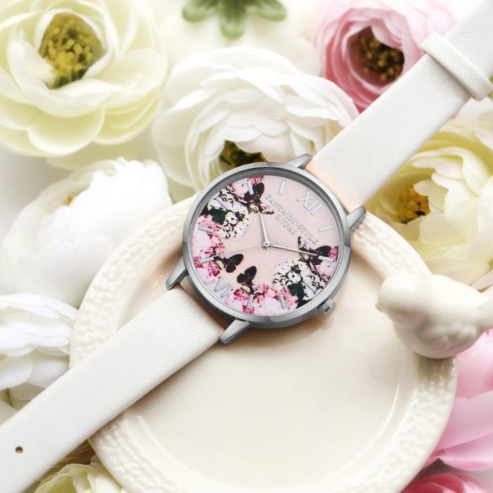 Lvpai luksusa ādas sieviešu kleita pulksteņi rokas pulkstenis - Sieviešu pulksteņi - Foto 2