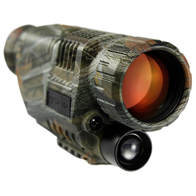 2017 HD Potente Arma Vista La Visione Notturna Monoculare Caccia Tattico di Visione Notturna A Raggi Infrarossi Telescopio Militare Digitale Monoculare