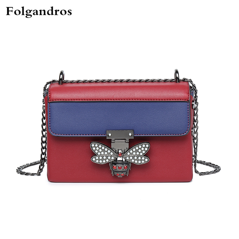 ded909e32175 Image Luxury Italy Brand Handbags Fashion Bees Mosaic Crossbodybags Chic  Chains Totes Shoulder Messenger Bags Famous