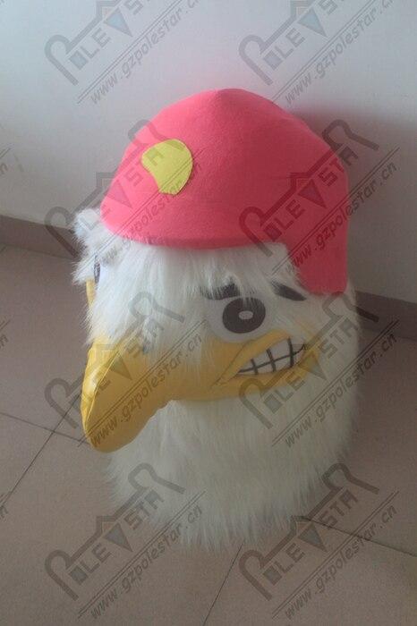 Costumes de mascotte d'oiseau orange costumes de mascotte d'aigle - 6