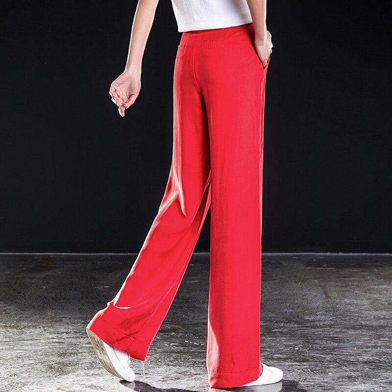 Droites En Grande Femmes Taille 2019 Solide Haute Pour Bas Large KJFlc1