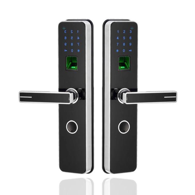 Biometric Security Electronic Keyless Fingerprint Door Lock ...