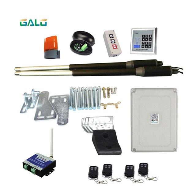 GALO 200kgs двигателя Системы автоматические двери AC220V/AC110V качели драйвером привод идеальный костюм ворота для бутылок Открыватель GSM ворот