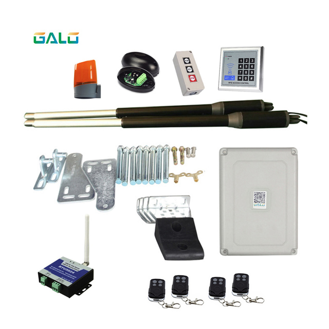 GALO 200kgs Engine Motor System Automatic door AC220V/AC110V swing gate driver actuator perfect suit gates opener