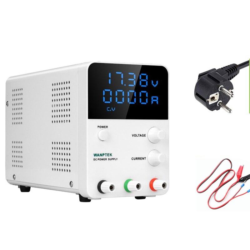 30 V 60 V 5A 10A haute précision numérique réglable dc alimentation 4 chiffres 0.001A régulateur de tension laboratoire dc alimentation