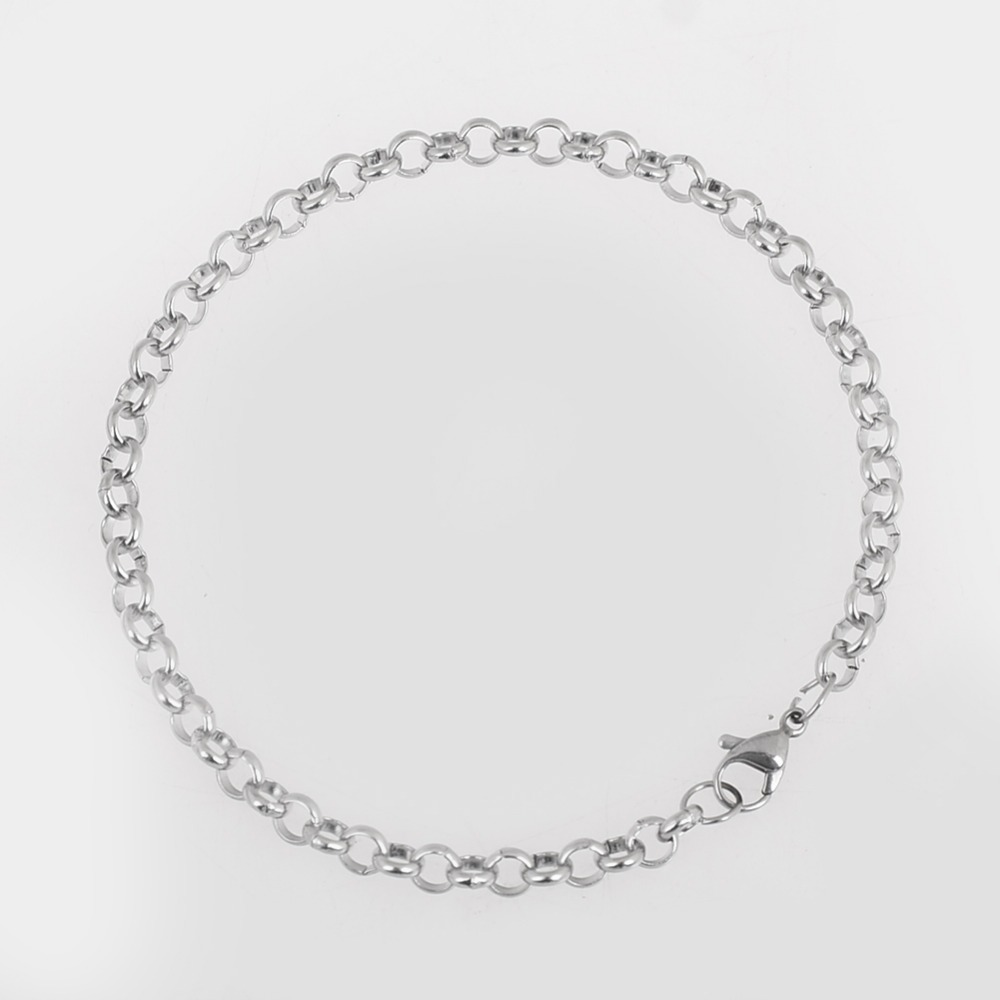 High Quality Link Chain Hiphop Fashion Stainless Steel Brace
