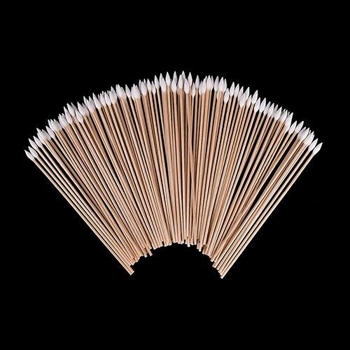 100pcs/lot 6 Inch Gun Cleaning Cotton Swabs Large Tapered Swabs Gun Clean Brush sponge stick swabs roland versacamm mimaki printers print head foramt solvent cleaning swabs clean sponge dx4 dx5 50 pcs