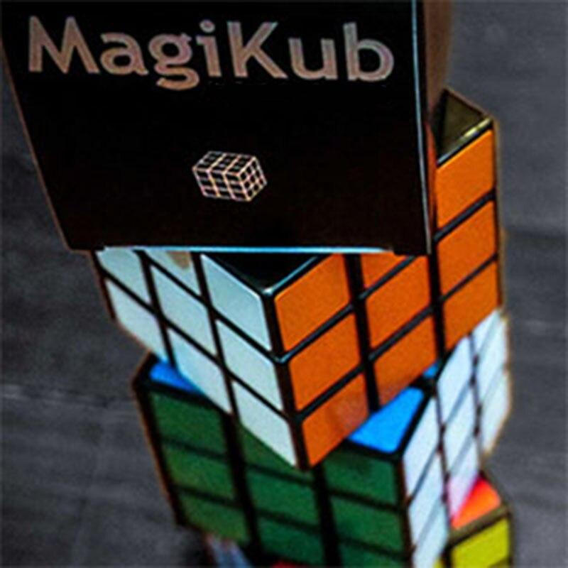 MAGIKUB Tours de Magie Puzzle Magicien Close Up Gimmick Props Illusion Mentalisme Drôle Cube Instantané Restaurer Magia