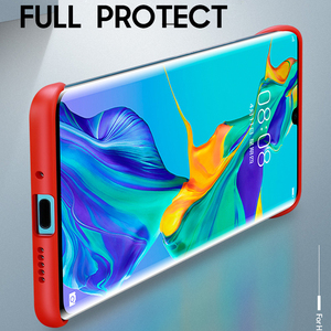 Image 3 - P30 Pro case for Huawei P30 P20 Lite 2019 mate 10 20 x back cover For Honor 8X 9X V20 20 pro P smart plus 2019 Frameless case