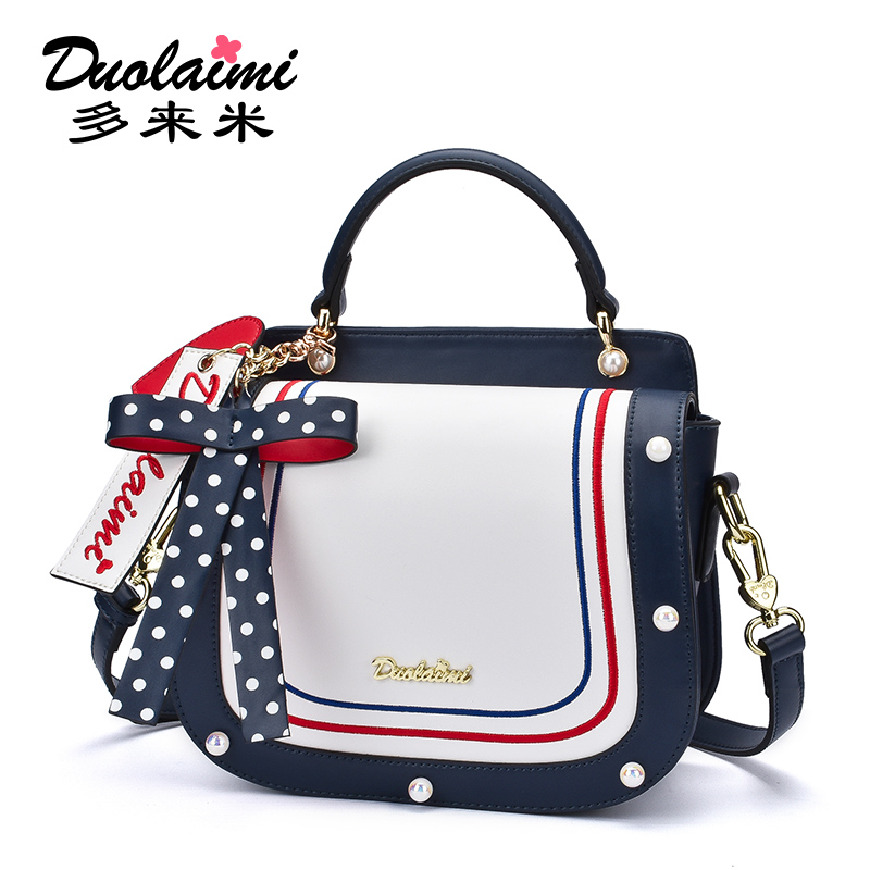 2019 New Arrival Spring and Summer Original Bow Crossbody Bag Korean Version Handbag Student Bag2019 New Arrival Spring and Summer Original Bow Crossbody Bag Korean Version Handbag Student Bag