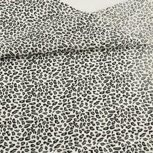 Estampado de leopardo 100% tela de algodón negro Tales Tissu costura patchwork para edredones muñecas juguete textil hogar artesanía de cama