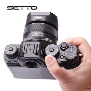 Image 4 - Установите держатель для большого пальца, Горячий башмак для камеры Fujifilm XT1 X T1 XT2 XT 2 XT3 XT100