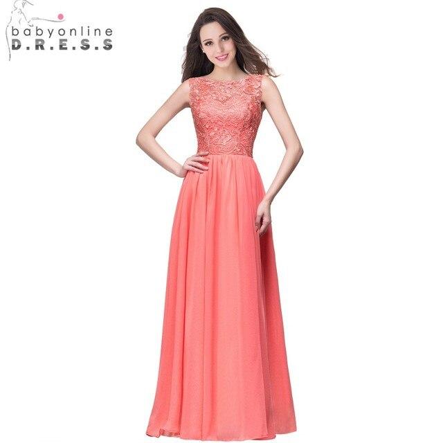 a88db398df44 € 60.7  Vestidos Elegantes de dama de honor de la gasa de la Marina oscura  2019 vestidos de fiesta de boda sin mangas azul real vestidos formales de  ...