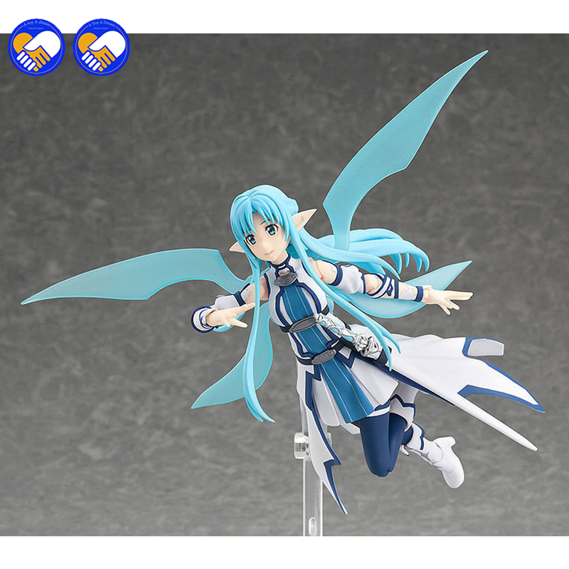 A toy A dream Anime Sword Art Online Figma 264 Yuuki Asuna Undine Special PVC Action Figure Collectible Model Toy 15cm 1