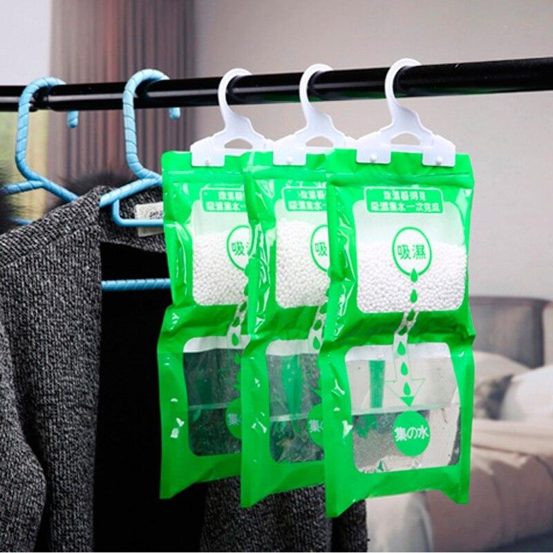 Desiccant Bag Household Wardrobe Closet Hanging Moisture Absorbent Dehumidizer