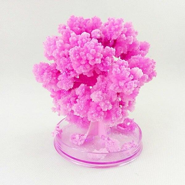 2019 PCS 10 50x8 centímetros Artificial Papel Magicamente Crescer Árvores Árvore de Crescimento Mágico Japão Desktop flor de Cerejeira Sakura brinquedos Para As Crianças