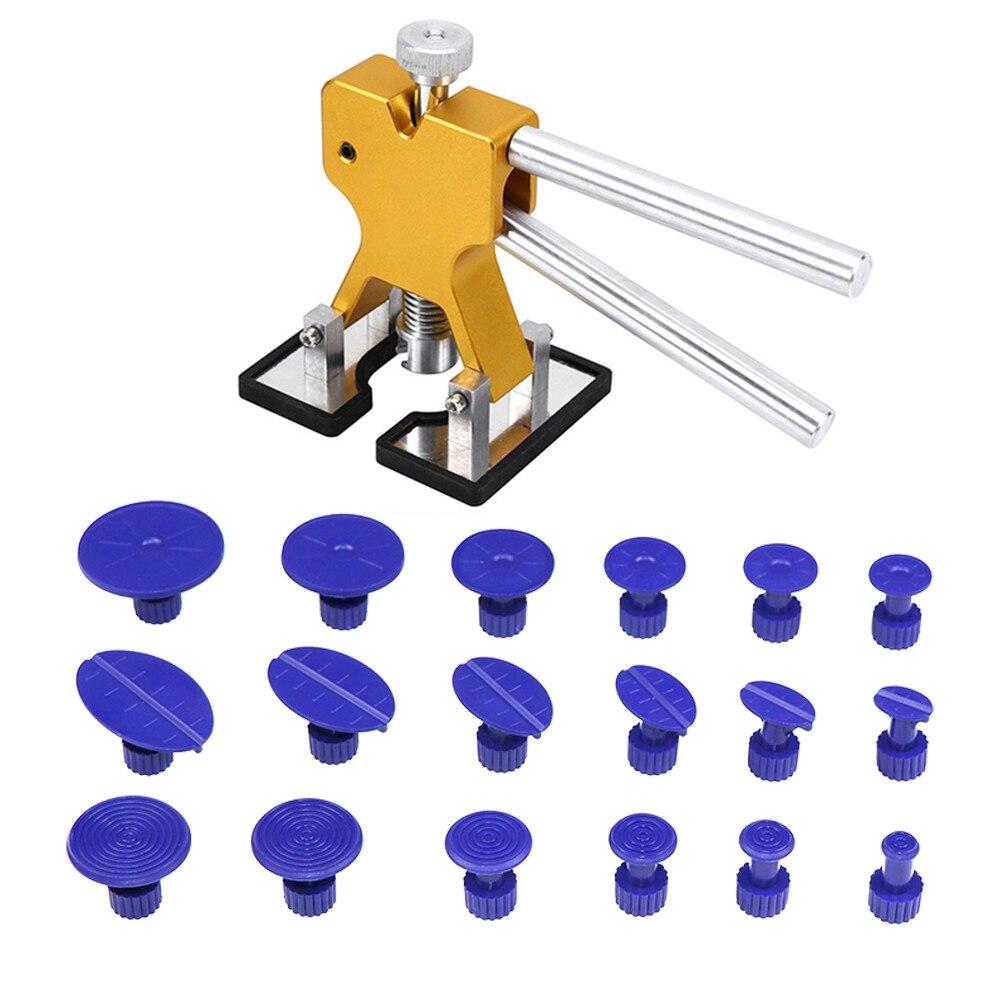 PDR Werkzeuge Kits auto ferramenta Ausbeulen ohne reparatur werkzeug dent puller/Heber herramientas + 18 Tabs Hagel Dent Entfernung werkzeug