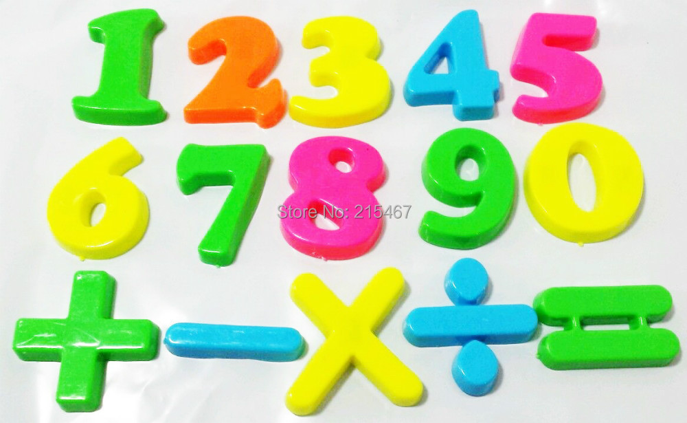 Image Gallery Magnetic Numbers