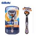 Gillette fusion proglide flexball potencia de afeitar máquina de afeitar eléctrica de afeitar para hombres marcas 1 bits titular with1 barbeador masculino