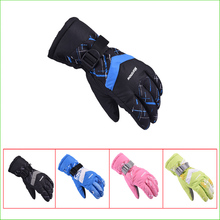 SG26K Waterproof Snow Gloves Winter Motorcycle Skiing gloves Snowboarding For Outdoor