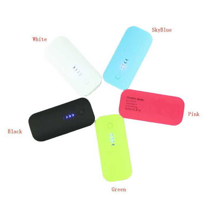 Portable 5600mAh External Power Bank Battery Charger For Cellphone Smartphone Charger for all the cell phone free shipping