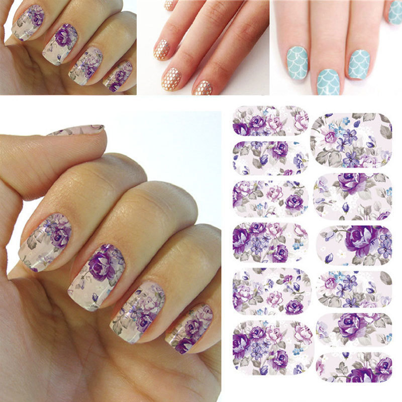 Diseño 3D Lindo DIY Sugerencia Nail Art Sticker Decal Nails Manicura Nail Herram