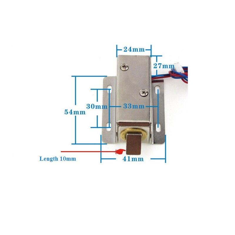 xg 03 dc12v 24v small electric bolt lock electromagnetic lock drawer electronic locks DC12V / 24V Electromagnetic Lock Small Electronic Locks Drawer Electric Bolt Lock