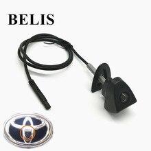 Широкий угол парковки аксессуары логотип автомобиля вид спереди камера для Toyota/Prado/Highlander/Land/Cruis/Camry/Corolla/Yaris/VIZI/REIZ