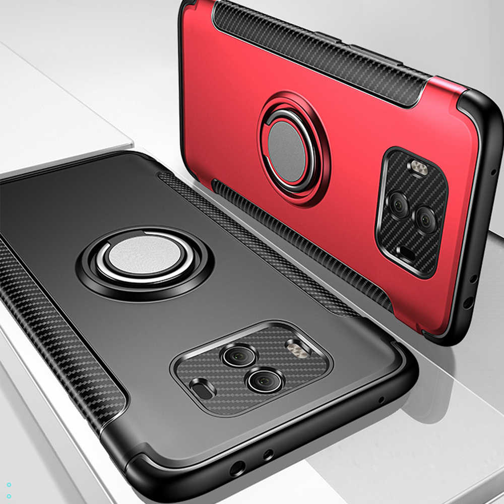 OTAO マグネットリングホルダーケース Huawei 社メイト 20 10 プロ P20 P30 P10 Lite ノヴァ 3 3i 4 名誉 9 鎧ケース金属ブラケットカバー Coque
