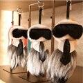 Горячая распродажа 33 см париж мода неделю горячие аксессуары Galeries lafayette моделирование Karlito подвеска кожа мао бесплатная доставка