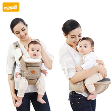 Mambobaby Ergonomic 5 in 1 Baby Carrier Backpack Breathable Cotton Sling For Baby Wrap Rider Canvas Front Backpack