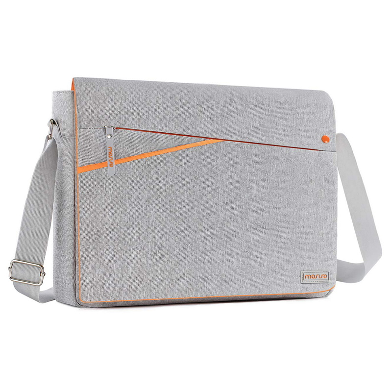 MOSISO Laptop Bag Sleeve 13 3 14 15 6 Inch Waterproof Notebook Bag for MacBook Dell HP Lenovo Laptop Shoulder Bag For Women Men in Laptop Bags Cases from Computer Office