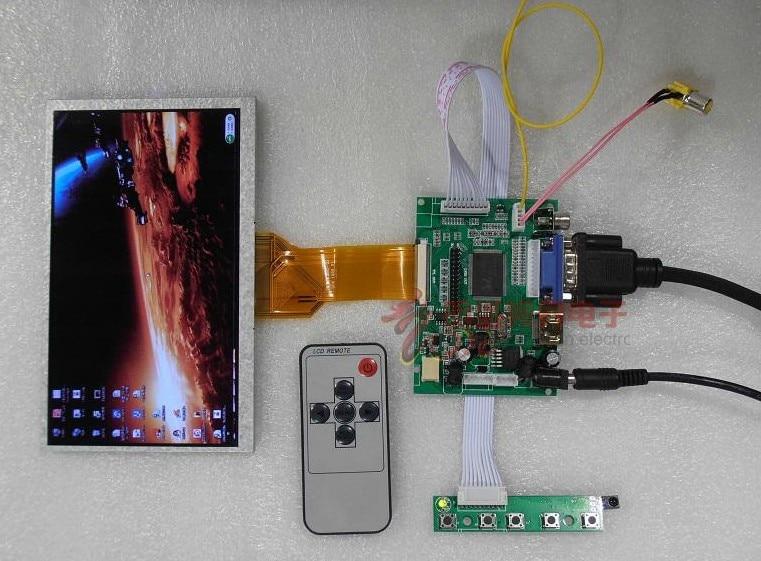 все цены на  Innolux 9 inch AT090TN23 HD IPS LCD kit HDMI VGA driver board quality assurance  онлайн