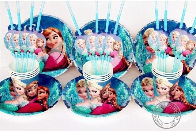 Frozen movie happy birthday party decoration supplies favors