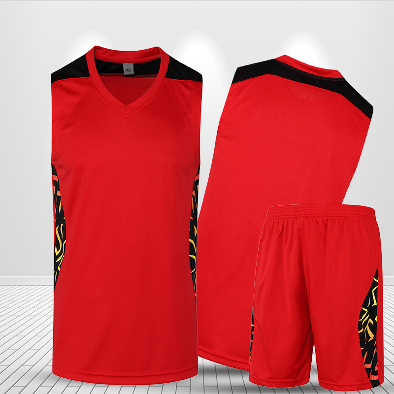 39714c41493 New Basketball Clothing Men Set Custom Sleeveless Short Printed Jersey  Basketball Game Women Basketball Uniform Suit Plus Size-in Basketball  Jerseys from ...