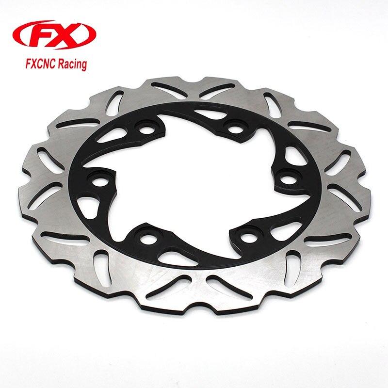 Motorcycle 230mm Floating Rear Brake Disc DisksRotor For KTM 125 200 390 DUKE 2012-2015 Motorbike Rear Brake Disc Disks Rotor