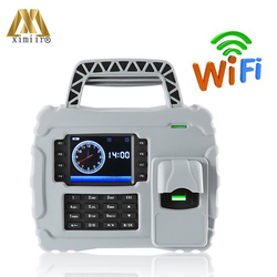 Good Quality S922 TCP/IP & WiFi Fingerprint Portable Time Professional Attendance Time Recorder Waterproof