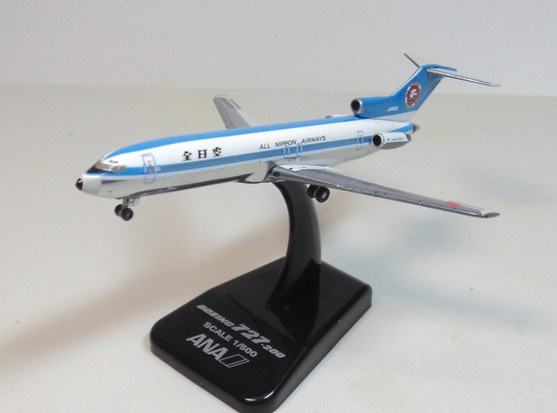 ANA B727-200 JA8355 ana old painting Hogan 1:500 ana ys 11 alloy hogan 1 200 ja8756 ana aircraft model