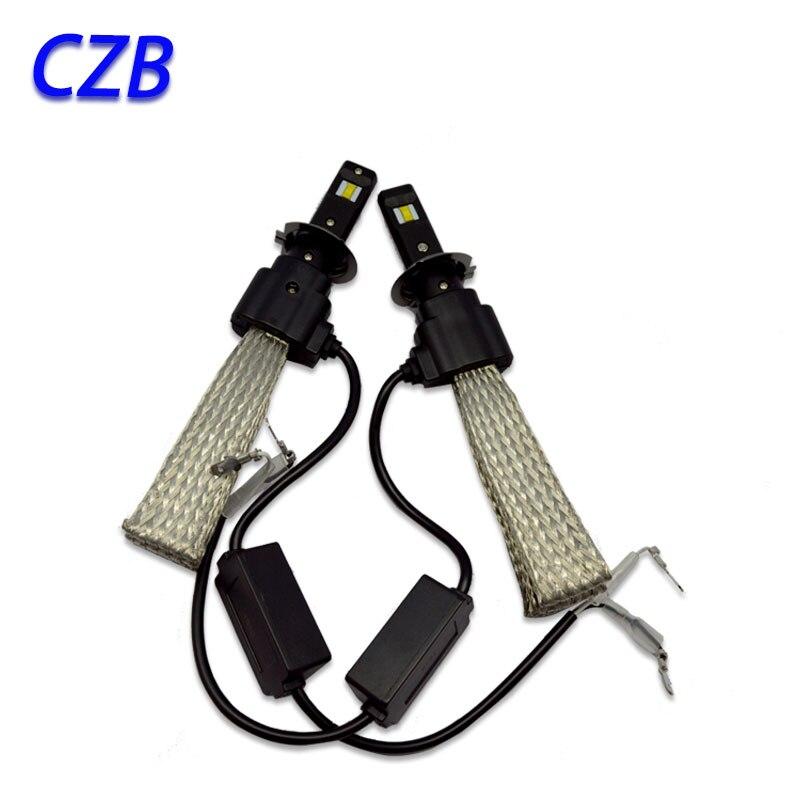 2Pcs 20W H7 Hi/Lo 3200LM led For Philips Car LED Headlight Kit Bulb Xenon HID White Lamp 6500K Fast shipping