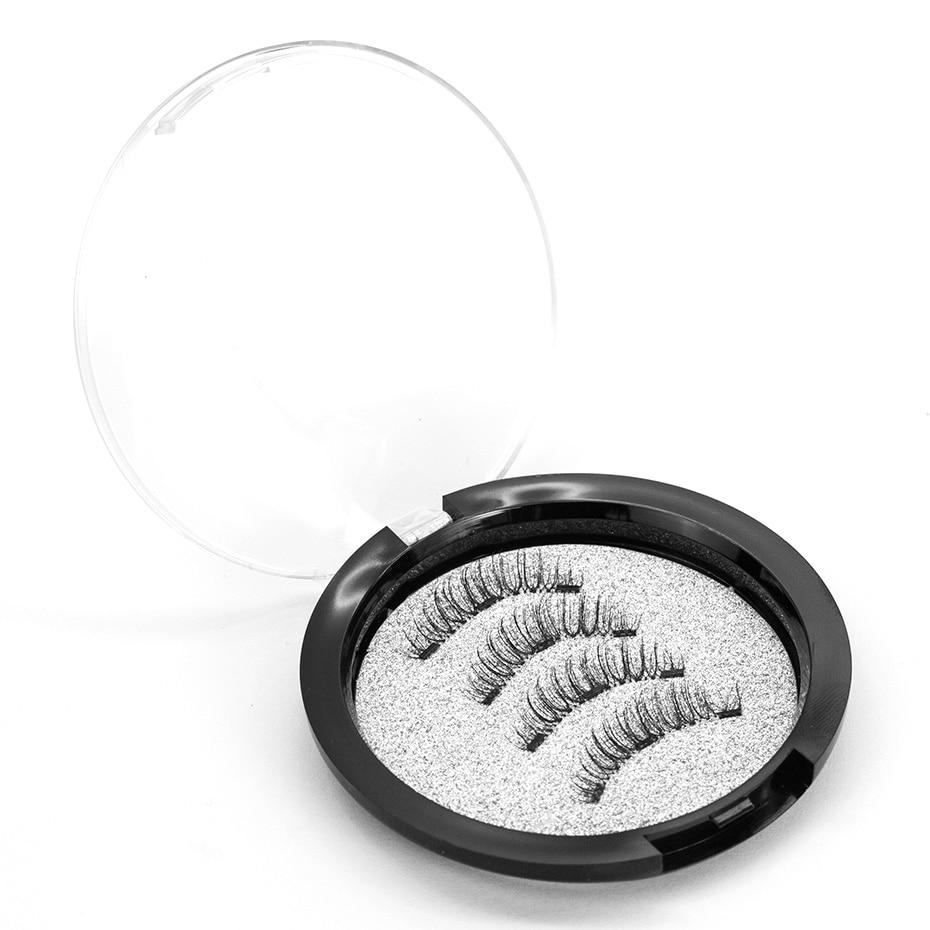 VICILEY 2018 New Style 3 Magnet 6D Magnetic Eyelashes Lashes False Eye Makeup CT03-3