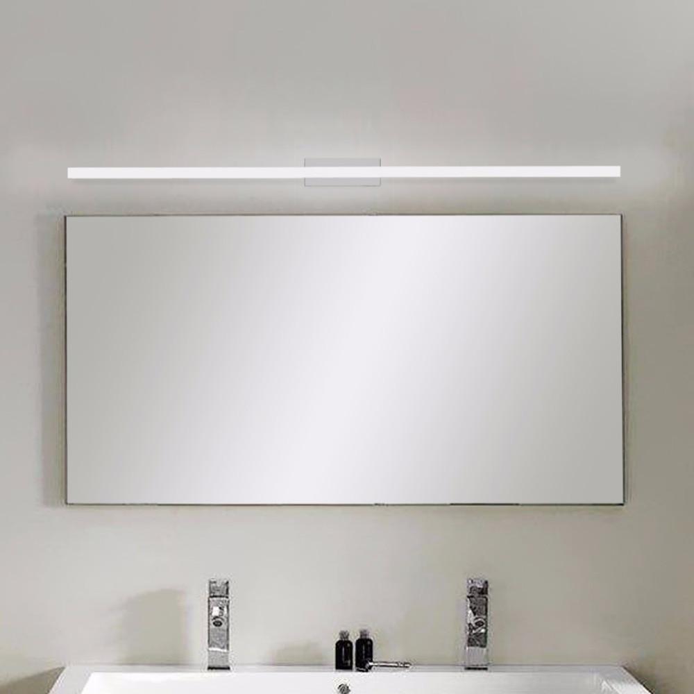 YUNLIGHTS 40CM Modern Bathroom Mirror Front LED Light Waterproof ...