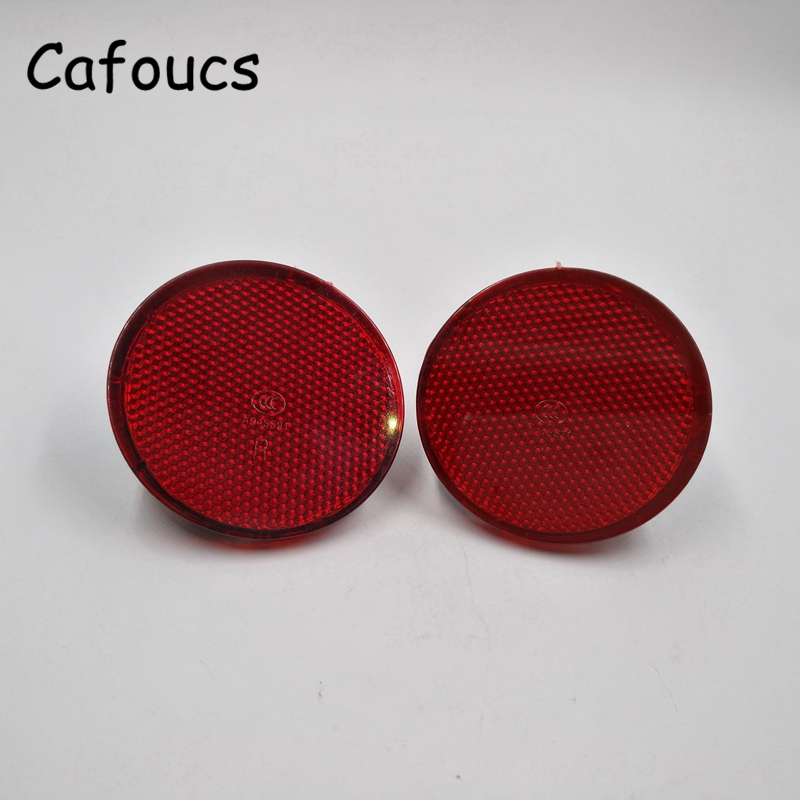 Cafoucs Car Rear Bumper Reflector Warning Light For Nissan Qashqai 2007 2008 2009 2010 2011 2012 2013 front fog lights for nissan qashqai 2007 2008 2009 2010 2011 2012 2013 auto bumper lamp h11 halogen car styling light bulb