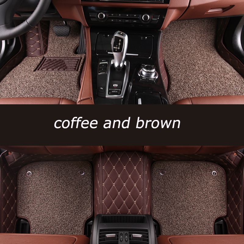 kalaisike Custom car floor mats For Volvo All Models s60 s80 c30 s40 v40 v60 xc60 xc90 s90 XC-Classi v90 xc70 car styling