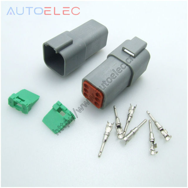 6pin dt06 6p connectors deutsch dt gray female and u barrel crimper rh aliexpress com Deutsch Connectors Logo Deutsch Connector Tools