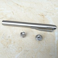 Tactical Pen Self Defense Pen Stainless Steel Defense Supplies Outdoor Emergency Glass Breaker Tool 3 Replaceable