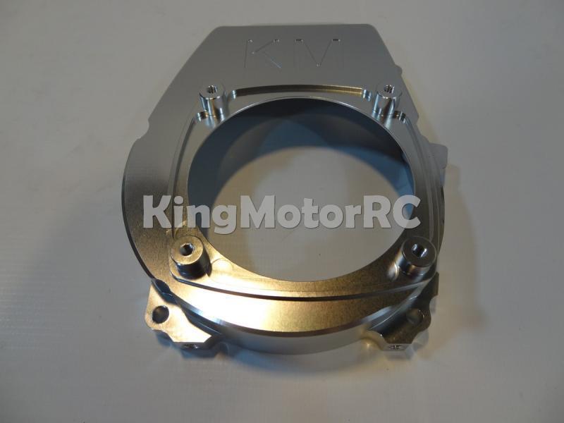Le couvercle de moteur en alliage d'aluminium King Motor convient aux moteurs HPI Baja 5b 5 t 5SC CY, Zenoha