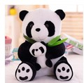 wholesale and retails 20cm-50cm mother and the kid panda plush toy lovely doll stuffed toy perfect gift for children