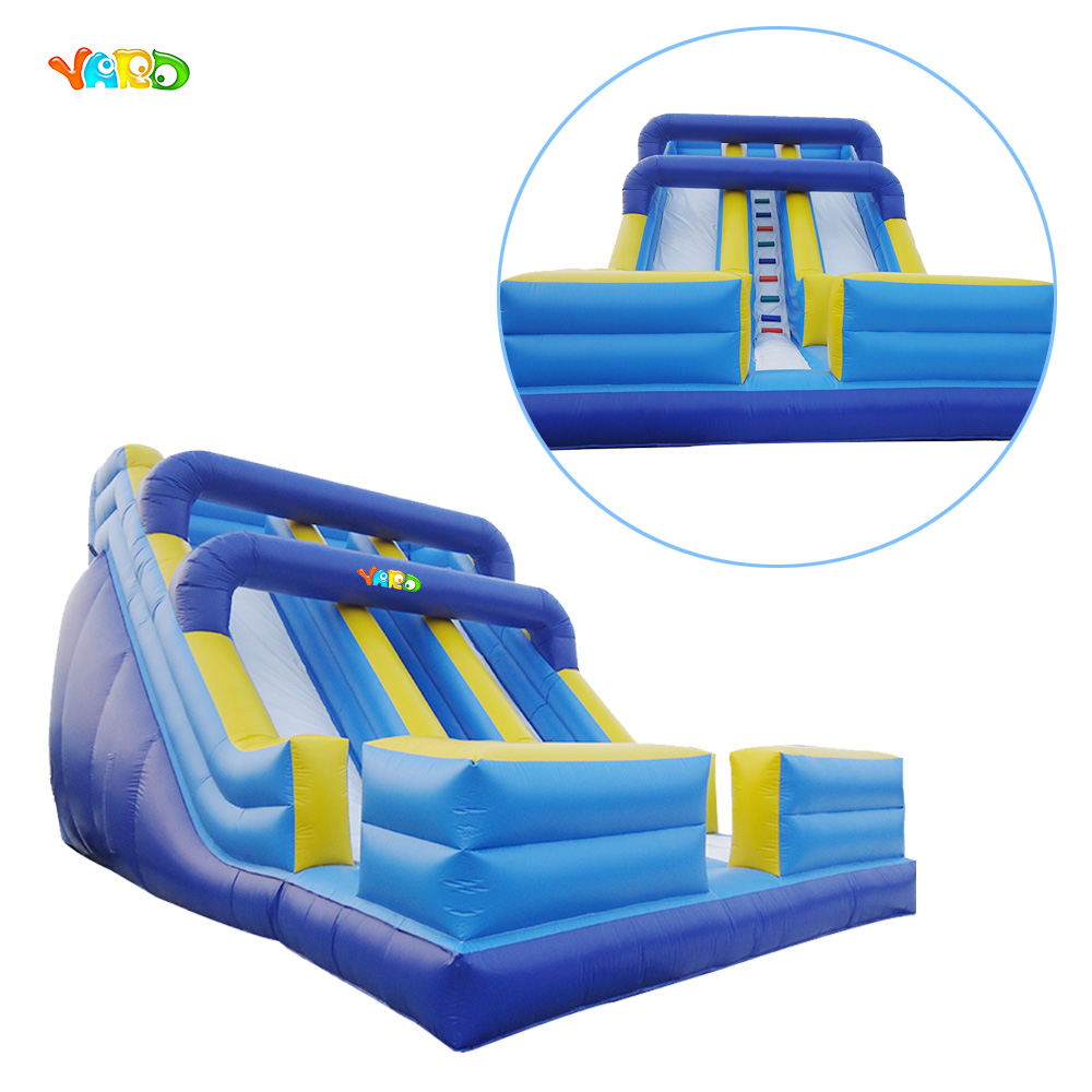 OEM Commercial Grade Inflatable Dry Slide with Single Ladder for Sale outdoor commercial use giant inflatable double lane water slide with arch