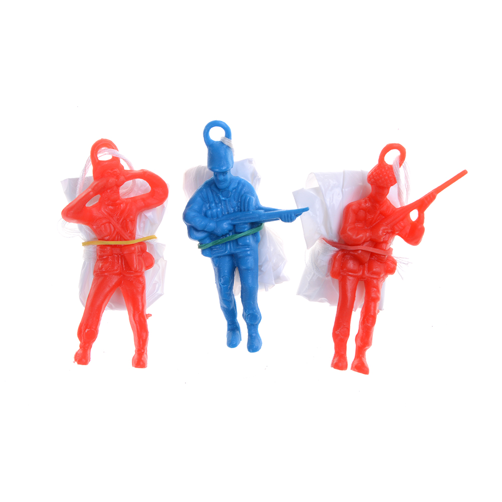 Play Game For Children's Educational Parachute With Figure Soldier Child Outdoor Fun Kids Parachute Hand Throwing Parachute Toy